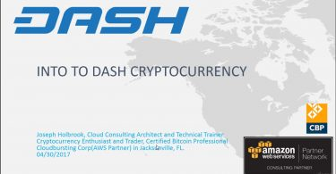 Dash Crypto Currency Technical and Trading Overview Bootcamp