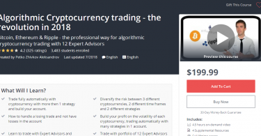 Algorithmic Cryptocurrency trading - the revolution in 2018