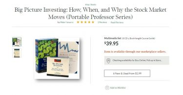 Big Picture Investing How, When, and Why the Stock Market Moves