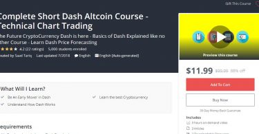 Complete Short Dash Altcoin Course - Technical Chart Trading
