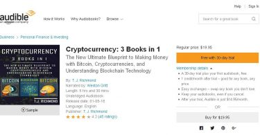 Cryptocurrency 3 Books in 1
