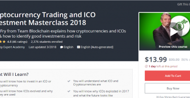 Cryptocurrency Trading and ICO Investment Masterclass 2018