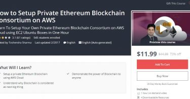 [Download] How to Setup Private Ethereum Blockchain Consortium on AWS