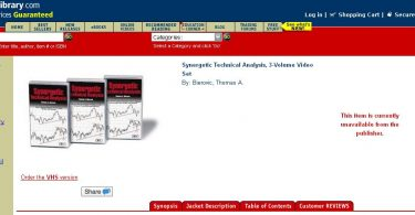 [Download] Synergetic Technical Analysis with Thomas A. Bierovic