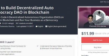 How to Build Decentralized Auto Democracy DAO in Blockchain