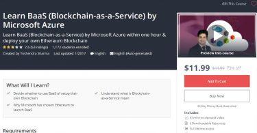 Learn BaaS (Blockchain-as-a-Service) by Microsoft Azure