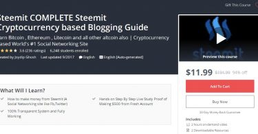 Steemit COMPLETE Steemit Cryptocurrency based Blogging Guide