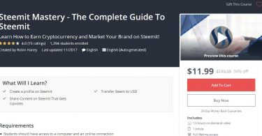 Steemit Mastery - The Complete Guide To Steemit