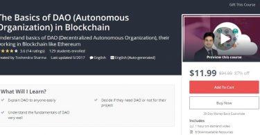 The Basics of DAO (Autonomous Organization) in Blockchain