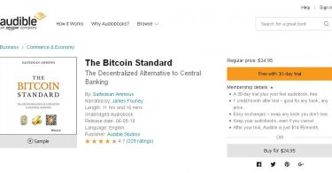 The Bitcoin Standard The Decentralized Alternative to Central Banking