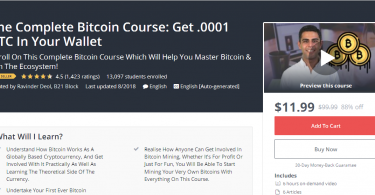 The Complete Bitcoin Course Get .0001 BTC In Your Wallet