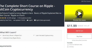 The Complete Short Course on Ripple - AltCoin Cryptocurrency