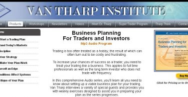 Business Planning For Traders and Investors