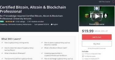 Certified Bitcoin, Altcoin & Blockchain Professional