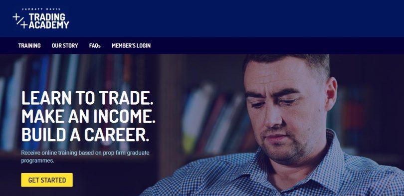Jarrat Davis - Trader Training Programme