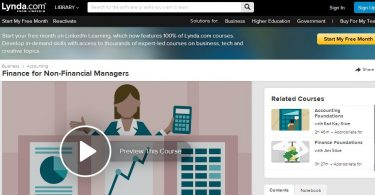 Lynda - Finance for Non-Financial Managers