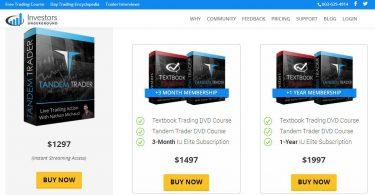 Tandem Trader Course - InvestorsLive