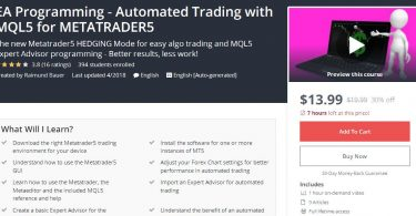 [Download] EA Programming - Automated Trading with MQL5 for METATRADER5