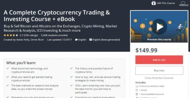 Download A Complete Cryptocurrency Trading & Investing Course + eBook