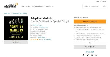 [Download] Adaptive Markets Financial Evolution at the Speed of Thought