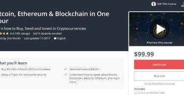 [Download] Bitcoin, Ethereum & Blockchain in One Hour