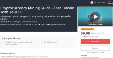 [Download] Cryptocurrency Mining Guide - Earn Bitcoin With Your PC