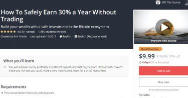[Download] How To Safely Earn 30% a Year Without Trading