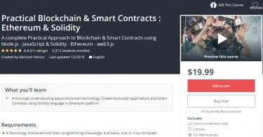 Download Practical Blockchain & Smart Contracts Ethereum & Solidity