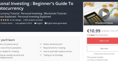 Download Personal Investing Beginner's Guide To Cryptocurrency