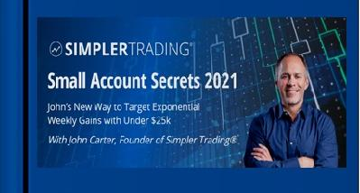 SimplerTrading - John Carter - Spreads Trading Strategies For Growing Small Account