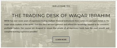 WIFXA - Institutional Scalping & Intraday Trading